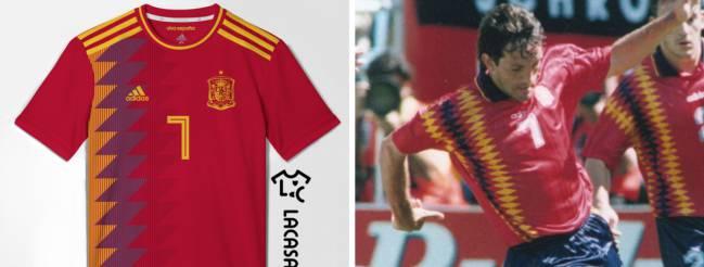 bf2f257b886be Se filtra la posible camiseta de España para el Mundial 2018 - AS USA