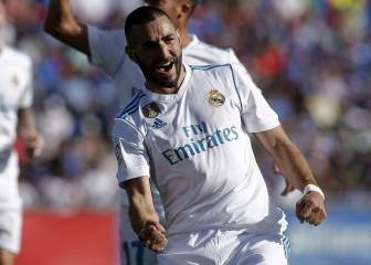 Benzema matches Gento's mark and overtakes Pirri in LaLiga