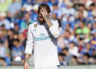 Sergio Ramos treated for vomiting ahead of Getafe game