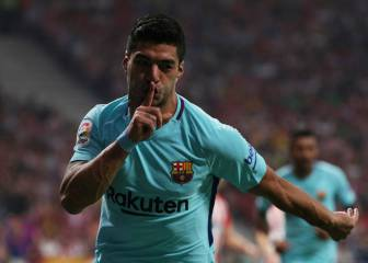 Luis Suárez equalises, tells the Wanda to keep quiet
