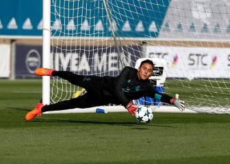 Keylor Navas eyeing return against Tottenham