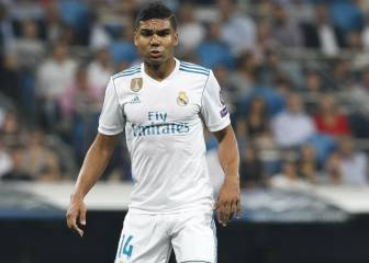 Casemiro: Zidane's road runner returns in Champions League