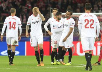 Spartak Moscow-Sevilla photo gallery