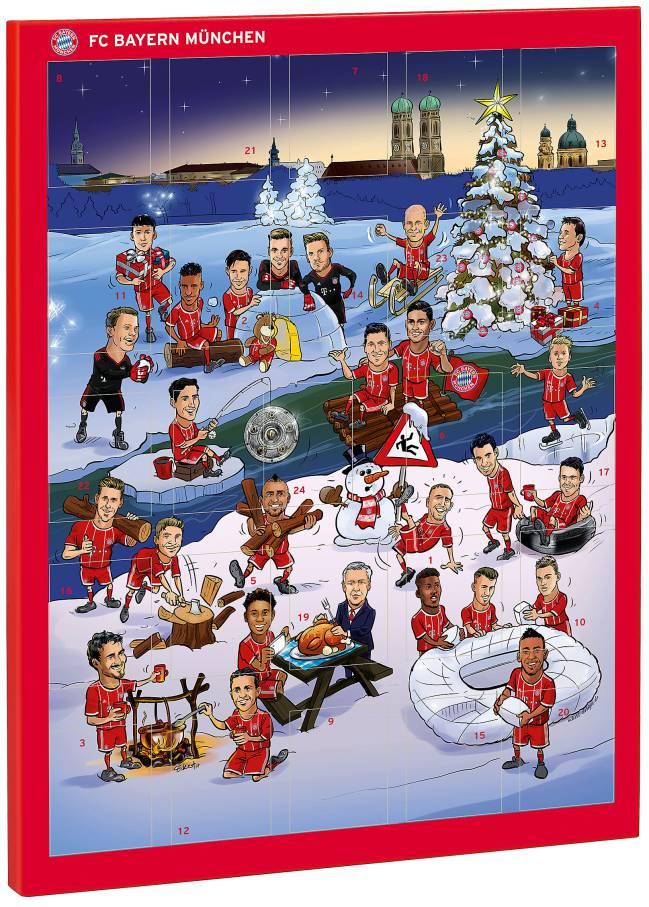 Calendario Bayern.Ancelotti Star Of The Bayern Munich Advent Calendar As Com