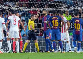 Barcelona-Olympiacos photo gallery