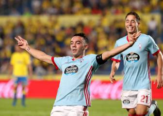 Iago Aspas two goals away from hitting 100-mark for Celta