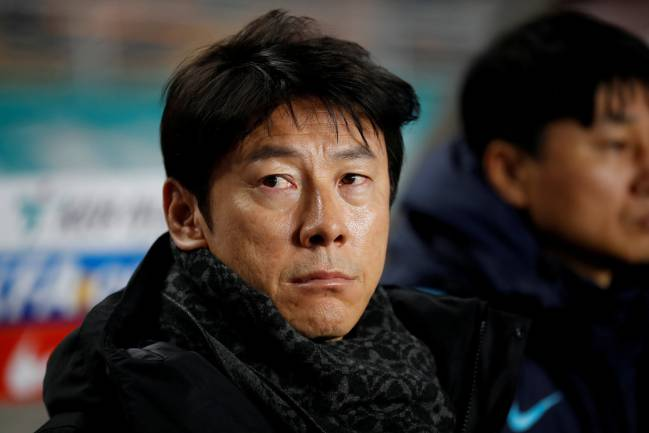 Shin Tae-Yong, South Korea coach