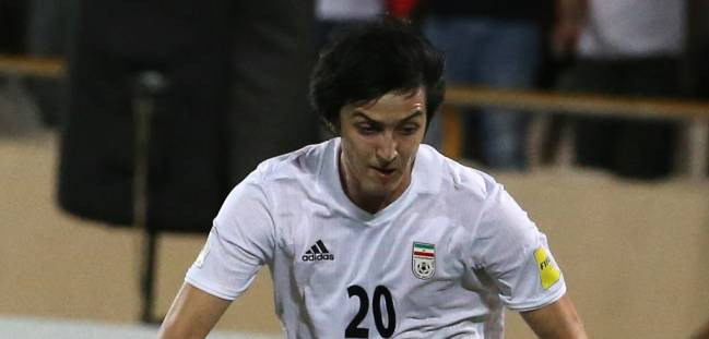 Sardar Azmoun: the star of the Iran team