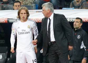 Ancelotti and Modric Croatian reunion on the cards...