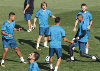 Zidane prepares for the visit of Eibar without Keylor Navas or Raphael Varane