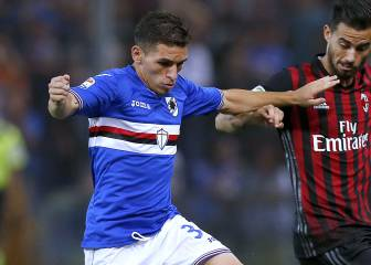 Sampdoria's Lucas Torreira could replace Gabi at Atleti
