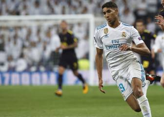 Achraf takes a leaf out of Carvajal's book