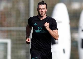 Gareth Bale returns to Real Madrid training ahead of Eibar