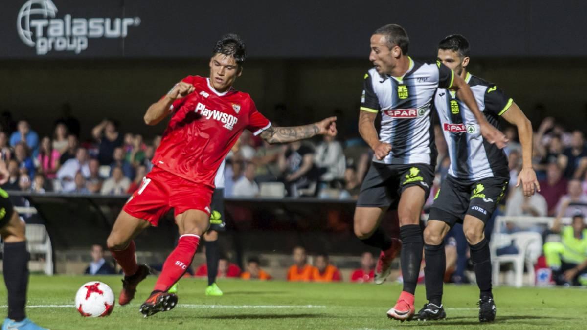 Resumen Cartagena 0-Sevilla 3: Ganso reina en Cartagonova ...
