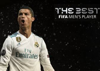 Cristiano imparable: Gana otra vez el premio The Best