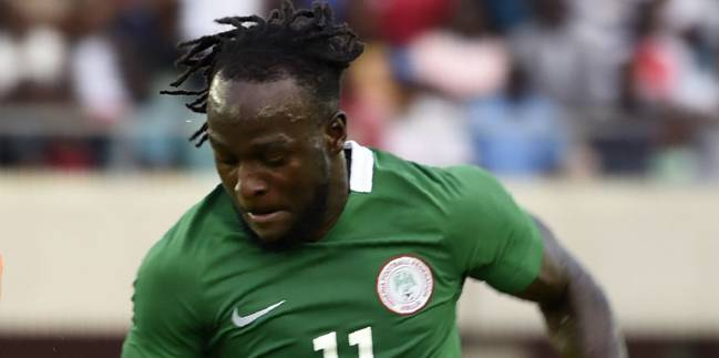 Victor Moses, the star of the Nigeria team