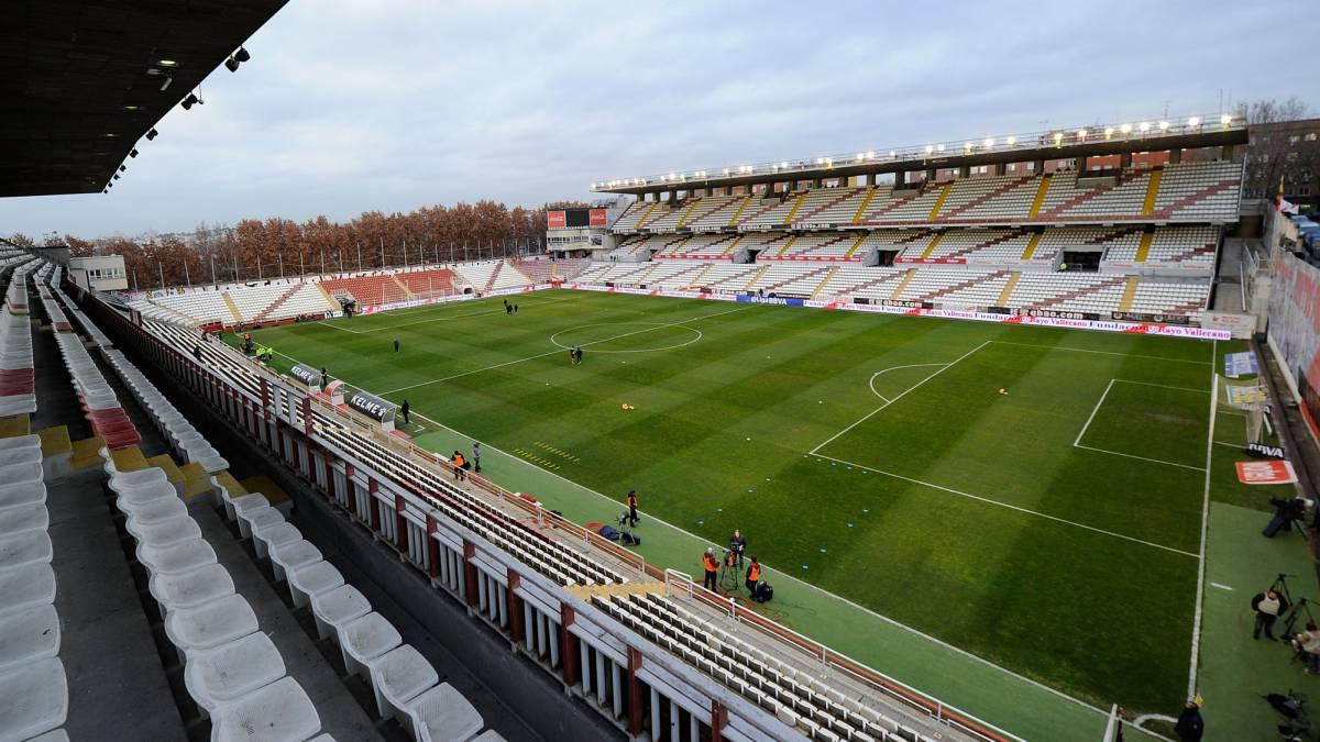 ผลการค้นหารูปภาพสำหรับ Estadio de Vallecas