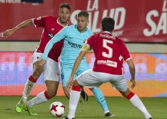 Real Murcia-Barcelona captured in pictures