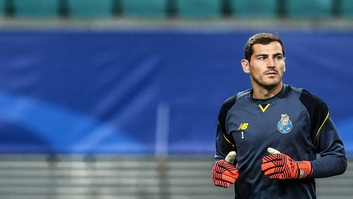 Iker Casillas to be pushed out of Porto in January - El País