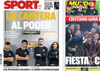 The Best y La Masia, en las portadas de Barcelona