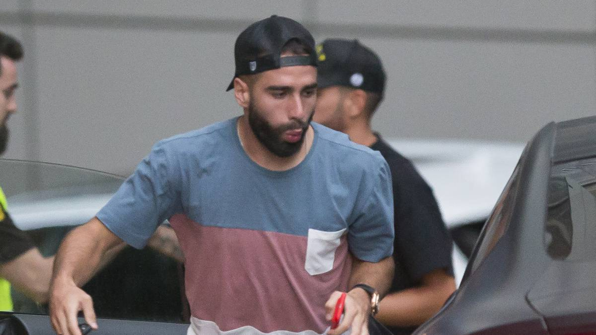 Carvajal is back training after heart infection confirms Zidane