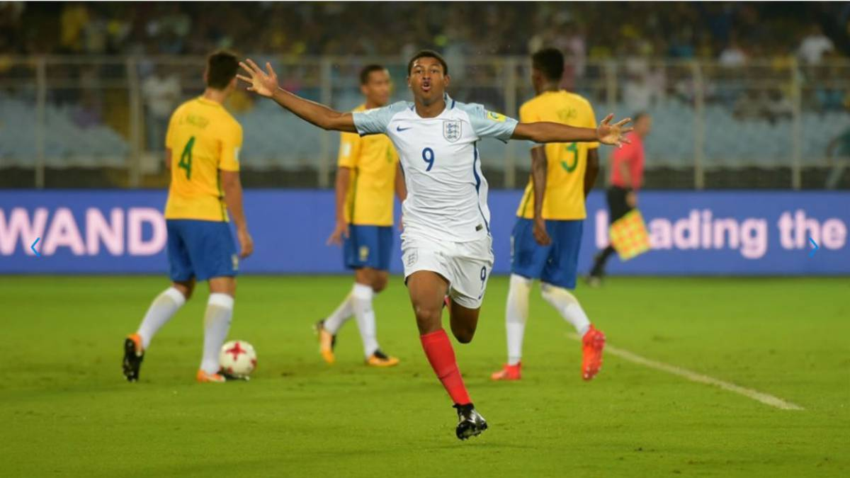 Brewster hat-trick vs Brazil earns England World Cup final place