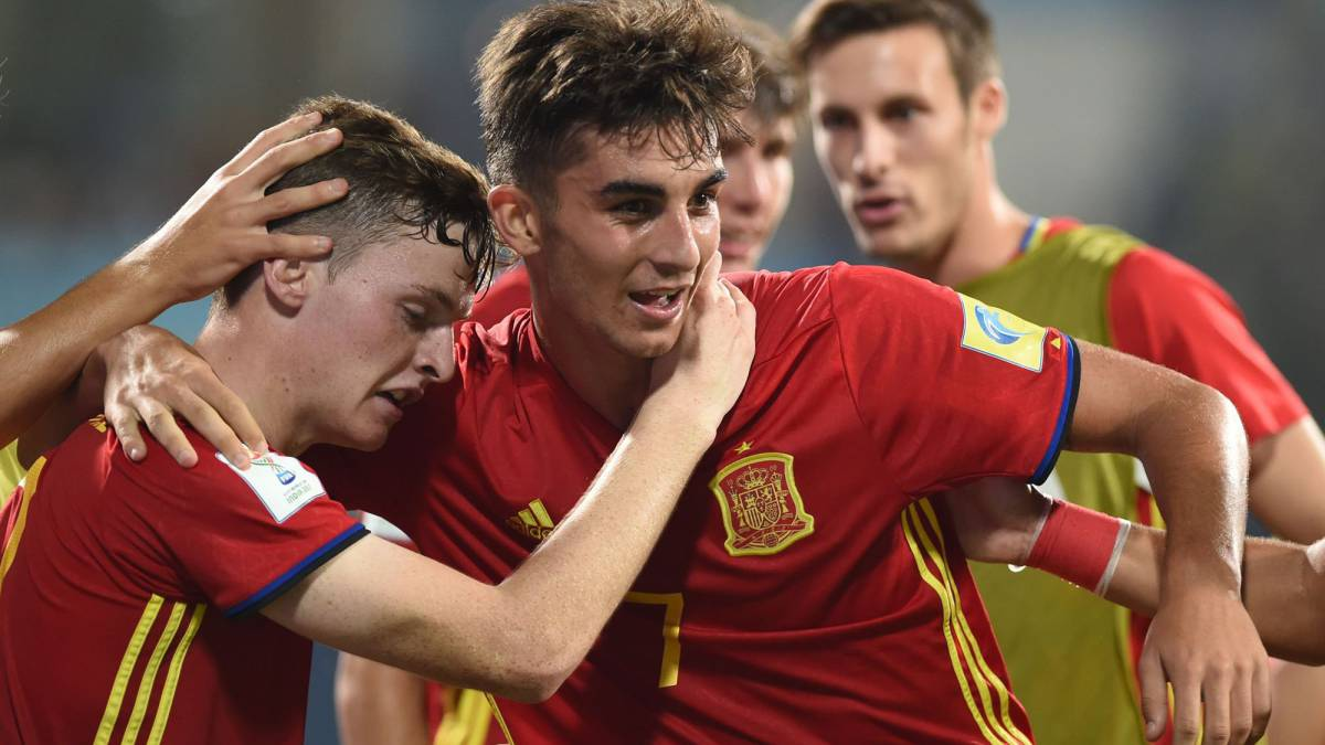 Spain's Under-17s march into World Cup final in style