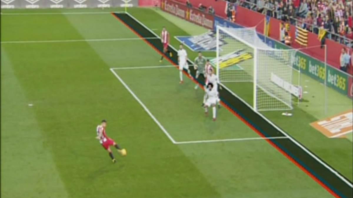 El segundo gol del girona al madrid fue en fuera de juego for Fuera de juego real madrid