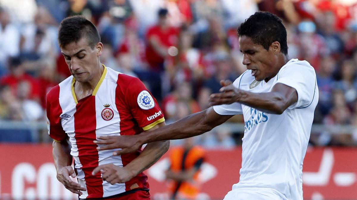 Varane subbed off at half-time against Girona with right hamstring issue