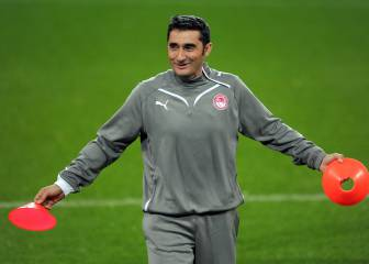 Olympiacos fans to pay tribute to former boss Valverde