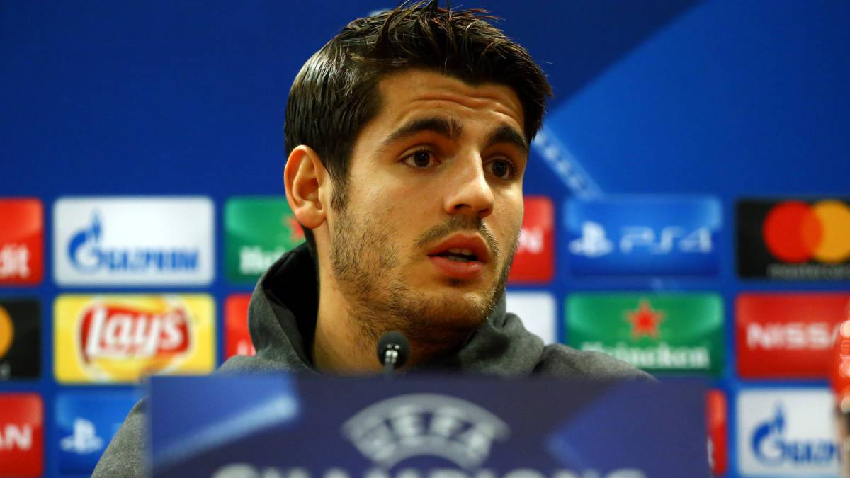 "Morata rejects idea that London is stressful: ""I would sign with Chelsea for 10 years if I could"""