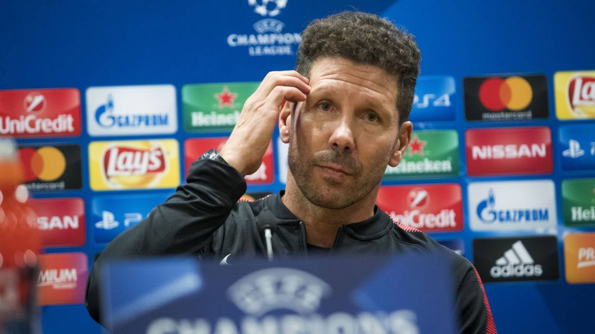 Atlético's lofty ambitions on the line - Simeone