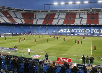 Atlético return to the Calderón five months after they left