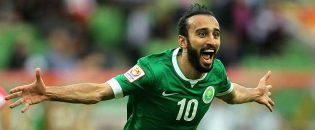Al-Sahlawi, the star of the Saudi Arabia team