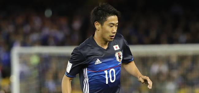 Shinji Kagawa, the star of the Japan team