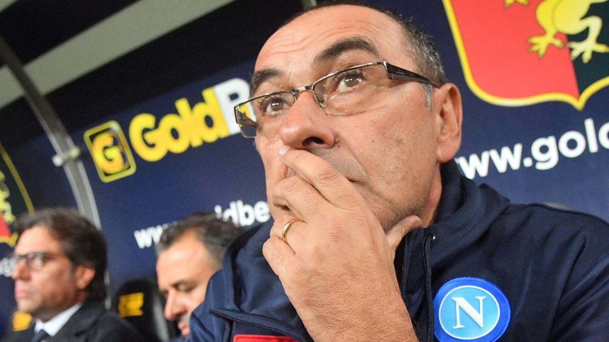 Maurizio Sarri could replace Simeone at Atlético when the time comes