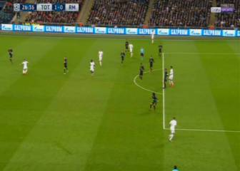 Dele Alli scores after Trippier strays offside