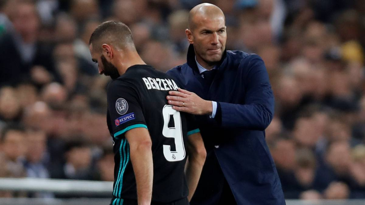 """Zidane: """"Maybe we are not all playing at the same level ..."""