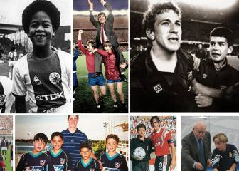 From ballboys to football stars