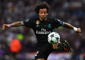 Marcelo lost the ball 29 times in Real Madrid defeat to Tottenham