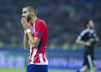 Atlético de Madrid losing patience with Yannick Carrasco