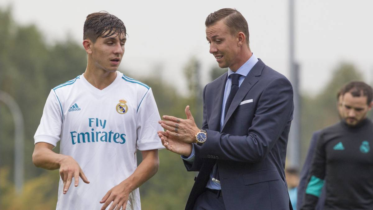 Real Madrid's Under-17 stars back at La Fábrica