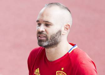 Lopetegui 'does a Coleman' by calling up unfit Iniesta