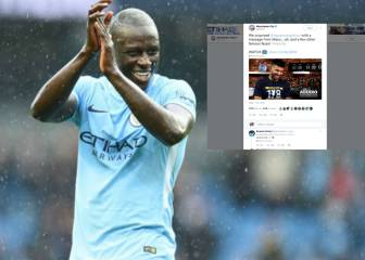 Mendy causes Twitter mirth with