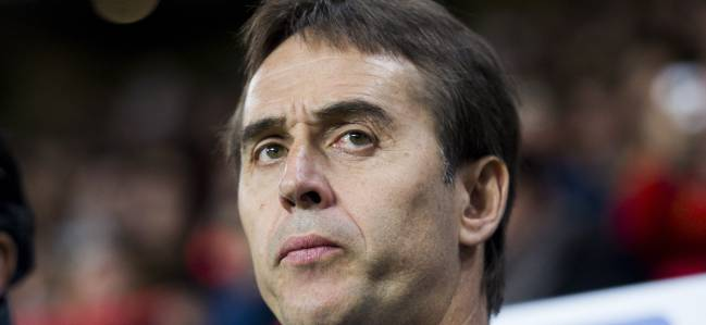 Julen Lopetegui, Spain coach