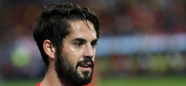 Isco, the star of the Spain team