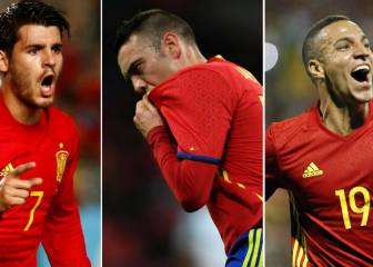 The race for Spain's No.9 shirt heats up