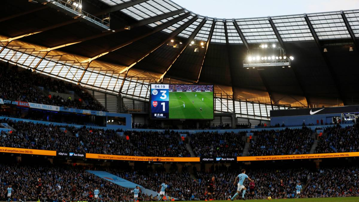 Amazon pagó 10 millones de dólares por grabar el documental del Manchester City.