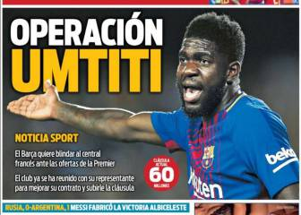 Umtiti's contract high on Barça's list of priorities