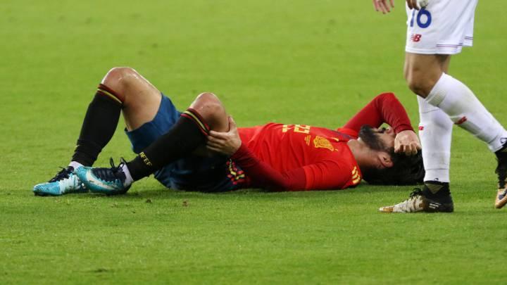 Isco no va a Rusia y es duda para el derbi contra el Atlético